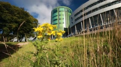 The Robert Gordon University (RGU) in Aberdeen Stock Footage