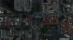 Aerial View of Faria Lima Street, Sao Paulo, Brazil - stock footage