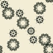 Abstract seamless wallpaper design Stock Illustration