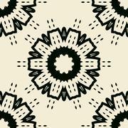 Endless abstract wallpaper design Stock Illustration