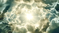 Cinematic Space Clouds Stock Footage