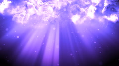 Blessing Light Clouds - stock footage