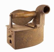 Vintage rusty iron Stock Photos