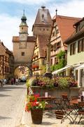 Rothenburg ob der Tauber Germany Stock Photos