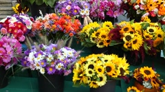 Flower Decoration Stock Footage