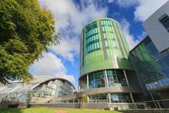 ABERDEEN SCOTLAND - 17 SEPTEMBER 2015 The Robert Gordon University (RGU) in A - stock photo