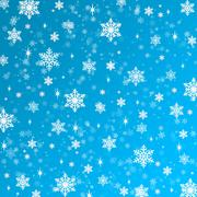 Snowflakes texture, raster. Christmas and New Year - stock photo