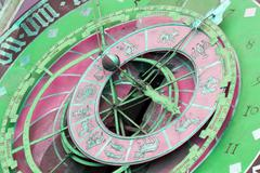 Zytglogge zodiacal clock in Bern, Switzerland Stock Photos
