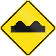 Stock Illustration of Rough Road In Mexico