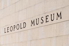 Leopold Museum In Vienna - stock photo