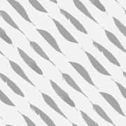 Soft feather - stock illustration