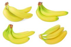 Set of Bananas - stock illustration
