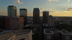 Aerial Alabama Birmingham Stock Footage