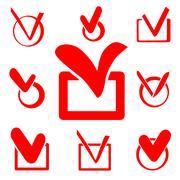 Check box Stock Illustration