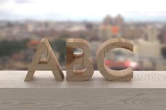ABC Stock Illustration