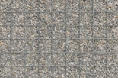 Background with a lot of pebble gravel stones texture - stock photo