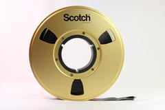 1 inch Open Reel Broadcast Videotape Format Stock Photos
