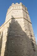 Exterior View of the Jerez de la Frontera Alcazar - stock photo