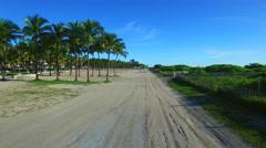 Aerial video Miami Beach Stock Footage