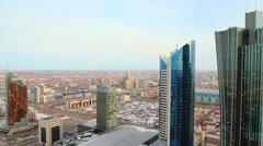 Astana, Modern Futuristic Buildings, Kazakhstan Stock Footage