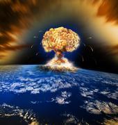 Nuclear Atomic War Stock Photos