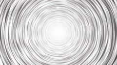 Rotating black tornado hand drawing an endless loop Stock Footage