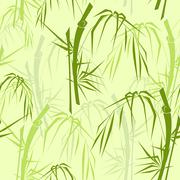 Stock Illustration of bamboo seamless pattern
