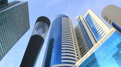 Astana, Modern Futuristic Buildings, Kazakhstan - stock footage