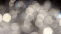 Background bright light yellow white gray abstract background bokeh holiday Stock Footage