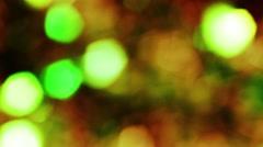 Background bright light green yellow orange red gray abstract background bokeh Stock Footage