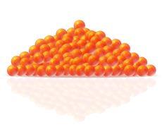 red caviar vector illustration - stock illustration