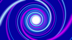 blue abstract background, spiral light, loop - stock footage