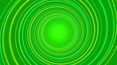 green abstract background, spiral light and particle, loop - stock footage
