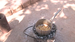 Cooking Beans, Zambia  Stock Footage