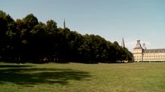 University in Bonn. Germany Stock Footage