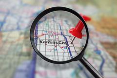 Kansas City Missouri magnified Kuvituskuvat