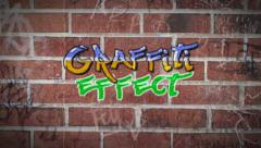 Graffiti Effect - stock after effects