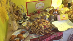autumn, trade fair - stock footage