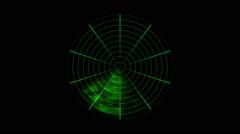Radar Animation Loop - stock footage