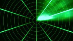 Radar Animated Loop 2 Stock Footage