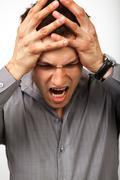 Fail problems or despair concept Stock Photos