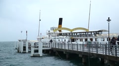 Boat club in Verna Bulgaria Stock Footage