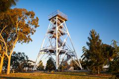 Bendigo Lookout Tower - stock photo