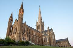 Sacred Heart Cathedral in Bendigo - stock photo