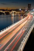 Brisbane Rush Hour Traffic Stock Photos