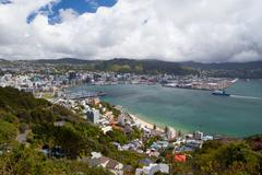 Wellington Skyline Stock Photos