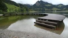 Beautiful Swiss Location Stock Footage