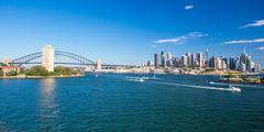 Sydney Skyline from Balls Head Reserve Kuvituskuvat
