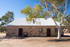 Alice Springs Telegraph Station Historical Reserve - stock photo