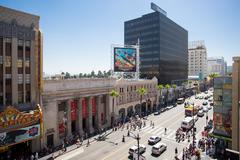 Hollywood Blvd by Day - stock photo